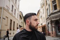 man beard hair