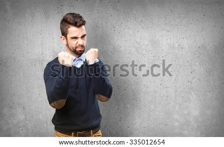 man challenging the life #335012654