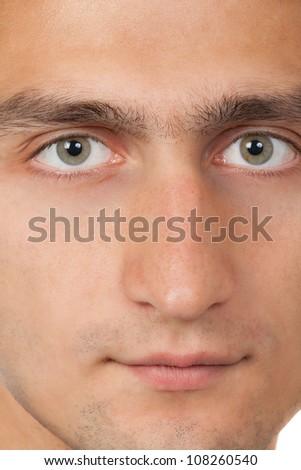 man close up portrait