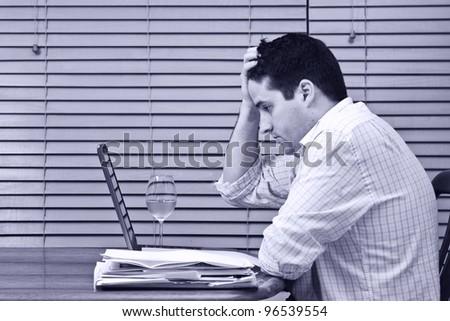 Man concerned about home finances