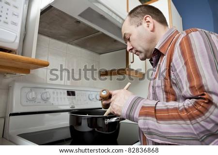 Man cooking #82836868
