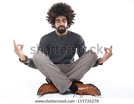 Man doing Budha
