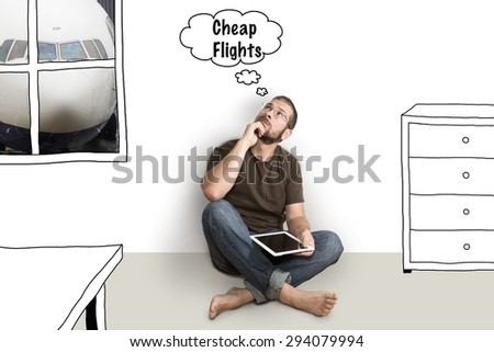 man dreams of low-cost flying