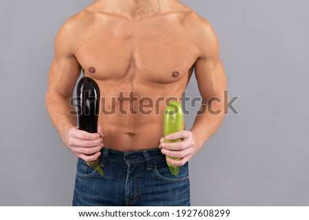 Man Erection problem and mens health. Mens potency concept Stockfoto ©
