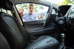 Man Forgot His Key Inside Locked Car