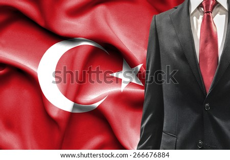 Man in suit from Turkey