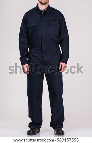 man in uniform worker
