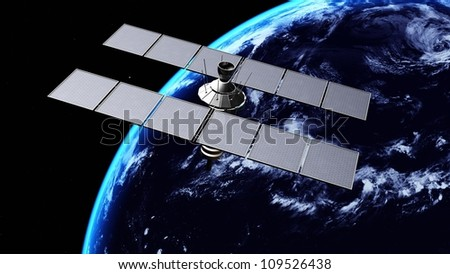 man-made satellite
