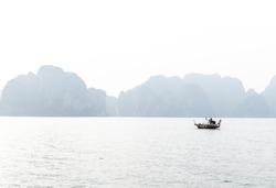 Man on Boat, Vietnam