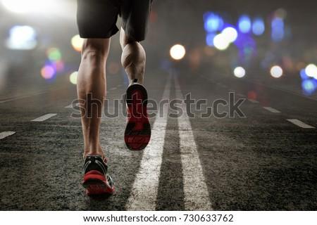 Man running #730633762