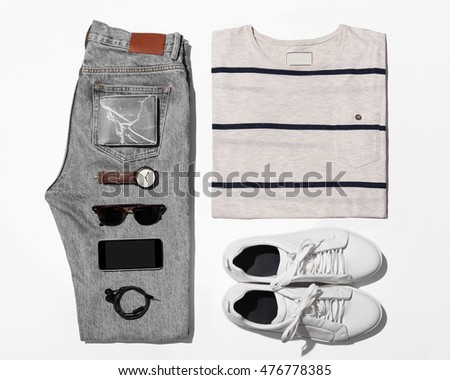 Man's clothing (