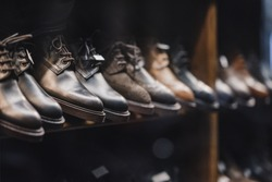 Man shoes store