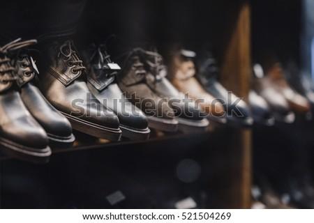 Man shoes store #521504269