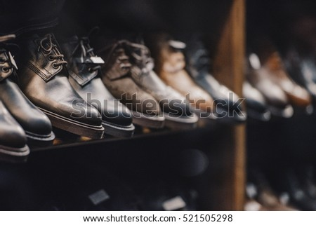 Man shoes store #521505298