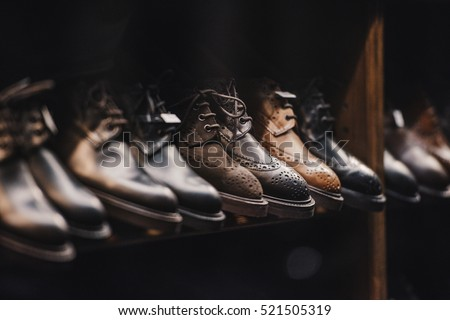 Man shoes store #521505319