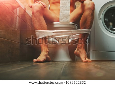 Man sitting bath. Funny photo. People in love. Positions kamasutra. Erotic moments. Concept photo. Secret. Fashion. Hot babe. Party. Night background. Sensual. Sex. Sensual. Funny. Strong male. Guy. #1092622832