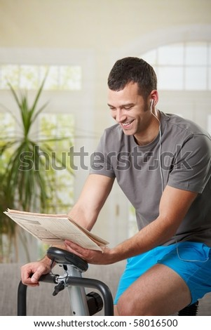 Sitting Exercise Bike