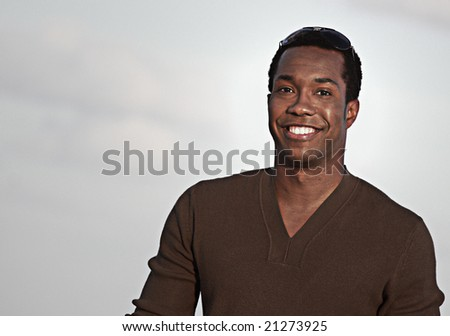 Man smiling at the camera