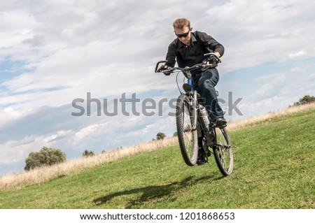One wheel bike Images and Stock Photos - Avopix com