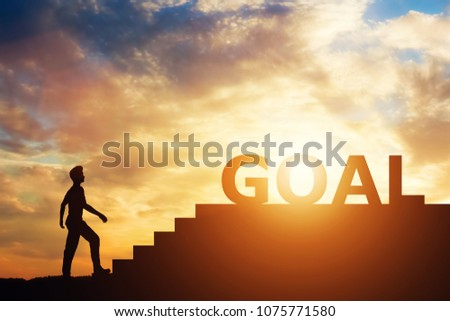 Man standing in front of stairs with