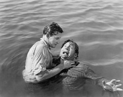Man trying to drown and kill a man