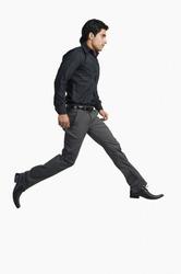 Man walking on