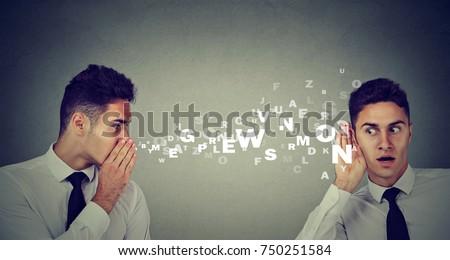 Man whispering himself latest rumors