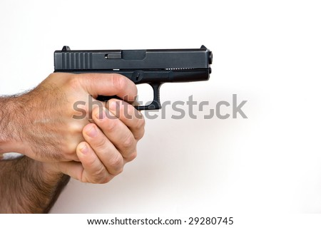 Man with a Gun in His Hands