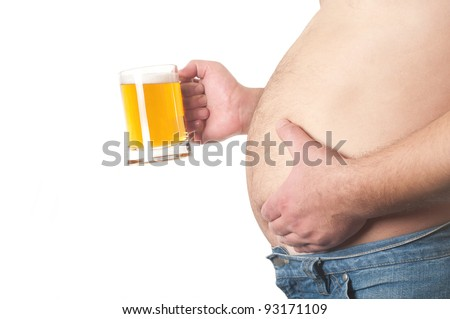 Man with beer mug