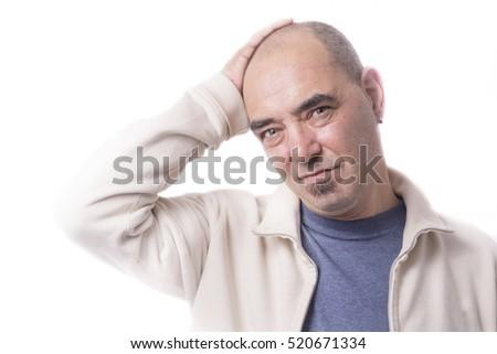 Man with headache #520671334