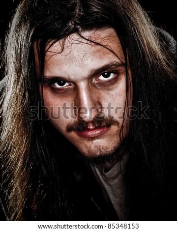 Man With Long Hair
