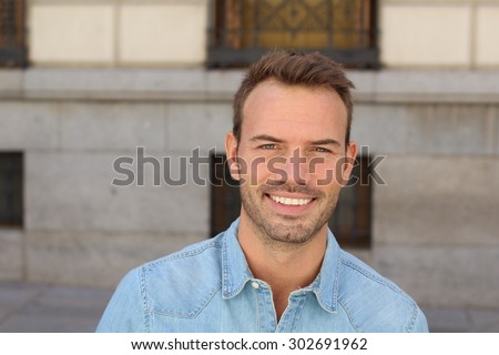 Man with the PERFECT SMILE
