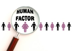 Management and development of human factor, people and workers