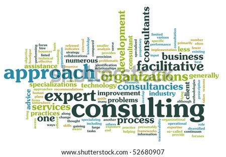 Management Consulting Service in a Company as Art