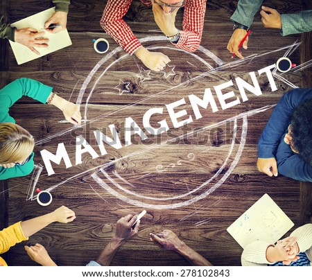 Management Manager Trainer Director Role Model Concept