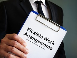 Manager is holding Flexible Work Arrangements.