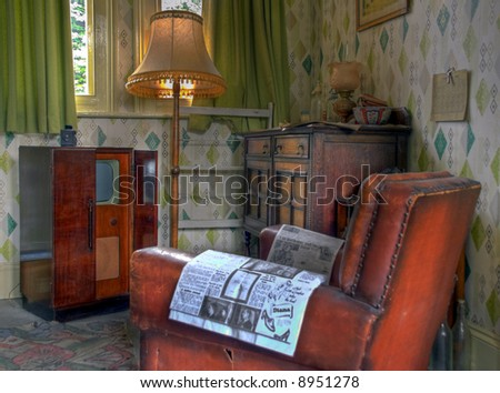 Managers Room retro style at Ropley train station England
