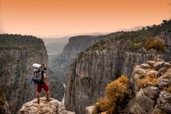 Manavgat, Antalya - Turkey. May 01, 2017. Discover !. Tazi Canyon ( Bilgelik Valley )  in Manavgat, Antalya - Turkey.