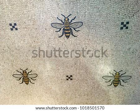 Manchester bee mosaics
