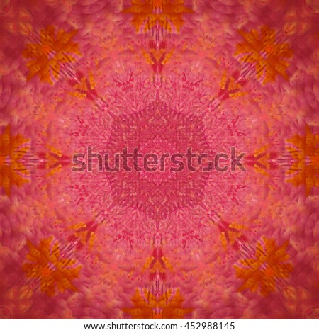manda;a flower is on the mat