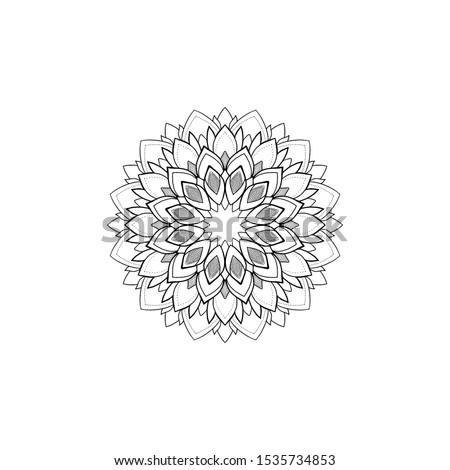 Mandala tattoo design Aleksandrovna ART Сток-фото ©