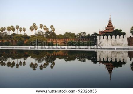 mandalay fort in myanmar