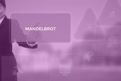MANDELBROT - technology and business concept