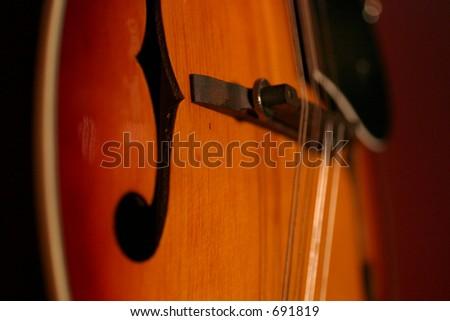mandolin violin guitar musical instrument orange red strings