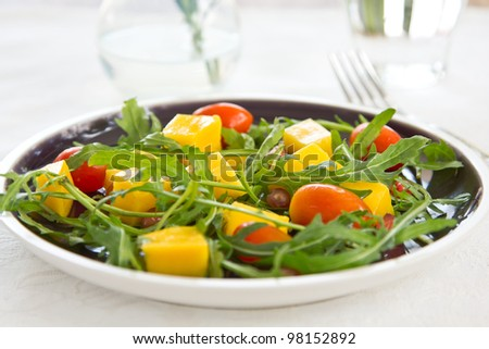 Mango  and Rocket salad
