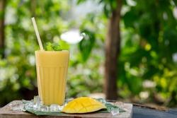 mango fruit - kind of tropical fruit smoothie