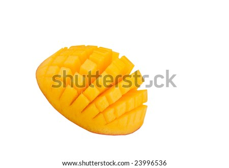 mango garnish
