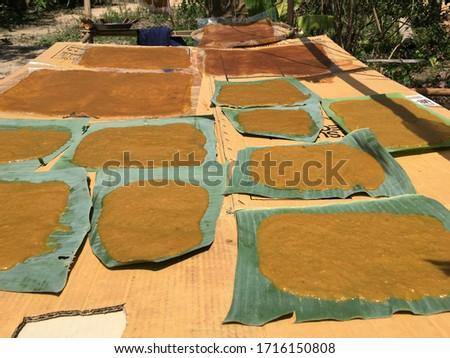 Mango preserved for preservation, preserved and preserved