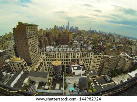 Manhattan Architecture #144982924