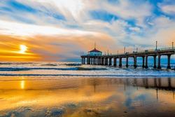 Manhattan Beach Pier, Manhattan Beach, California